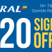 Coral Bookmaker Sign upp offer